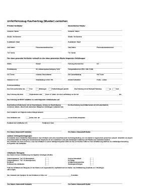 fill online - Grundstuckskaufvertrag Muster