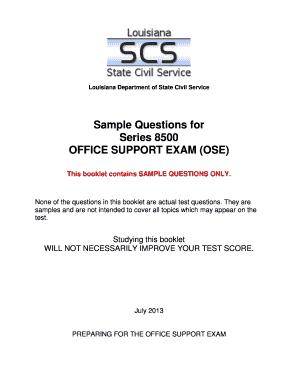 Civil service practice exam pdf
