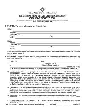 Real estate listing agreement form fill out online forms templates residential real estate listing agreement exclusive right to sell use of this form by persons who platinumwayz