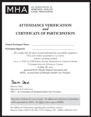participation certificate forms and templates fillable