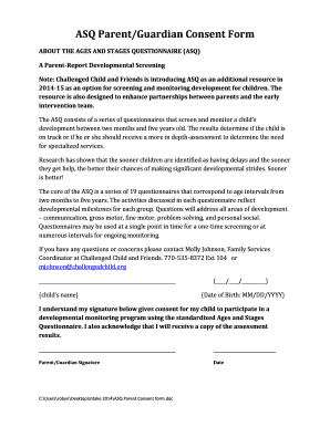 The Parent or Guardian should fill out this form with - oukas info