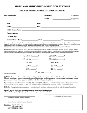 Post Manufacture Window Tint Medical Exemption Form - Fill Online ...