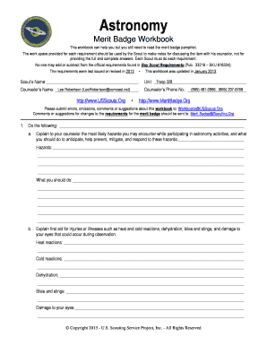 cooking merit badge workbook answers