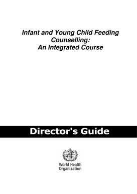Director's Guide - World Health Organization - new paho