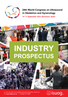 Sponsorship and Exhibition Prospectus - Isuog