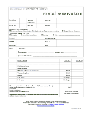 rental application template word