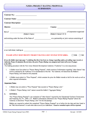 19 printable proposal for construction project pdf forms and
