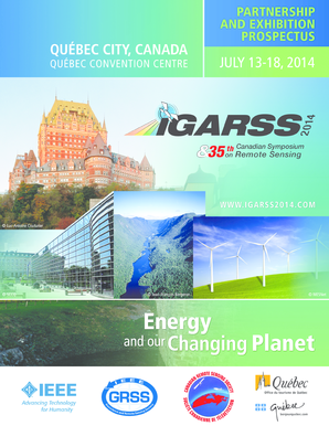 PARTNERSHIP and EXHIBITION PROSPECTUS is ... - IGARSS 2014 - igarss2014