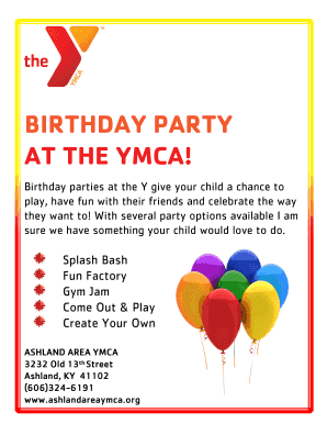 2014 Birthday Party Flyer.pdf - Ashland Area YMCA