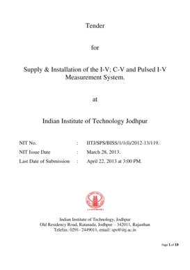 C-V and Pulsed I-V Measurement System - IITJ-Indian Institute of ...
