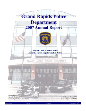 grand rapids police fill online printable fillable blank annual
