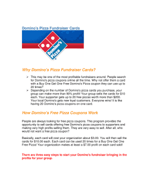 image relating to Printable Dominos Coupons named Printable dominos discount codes 50 off - Edit, Fill Out Obtain