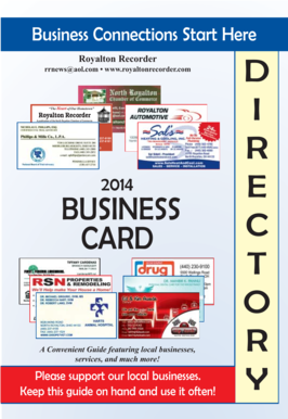 Fillable online business card directory north royalton chamber of fill online reheart Images