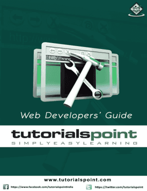 Web Technology Tutorial Point - Fill Online, Printable
