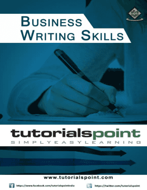Fillable Online Download Business Writing Skills Tutorial