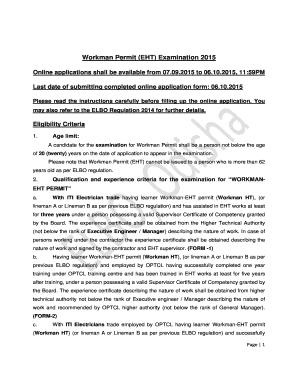 Odisha Electrical Scc Mv Licence Exam Result 2013 Fill