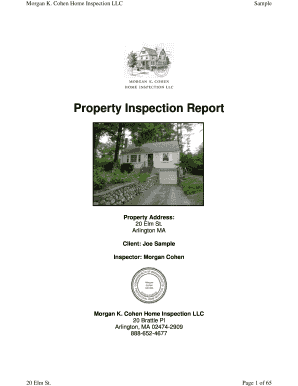 Property Inspection Report - MKC Associates Home Inspection