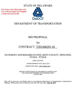 CONTRACT T201606201.01 - Delaware Department of Transportation