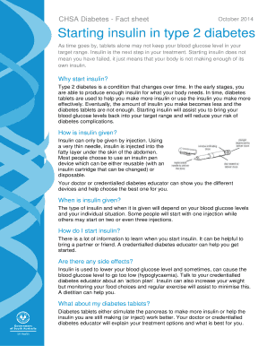 health fact sheet template - fillable online diabetesoutreach org sa health fact sheet