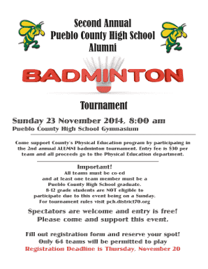 2nd-Annual-Alumni-Ba   - Pueblo County High School Fill Online