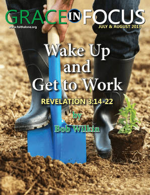 July-August 2013 Full Issue - faithalone