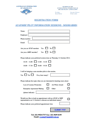registration form template microsoft word