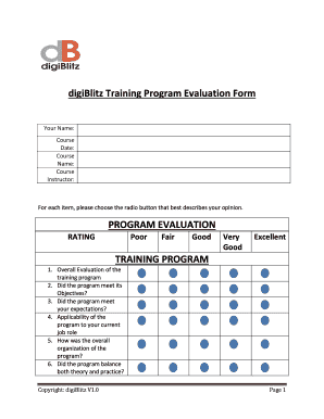 "evaluation of training program Abstract: an evaluation of the ""impact assessment of the training programs"" of a the study brought out the need to understand the training evaluation as a."