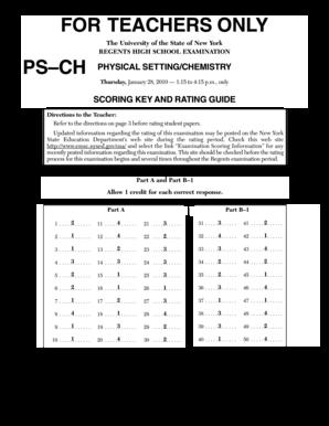 Fillable Online January 2010 Chem Regents Answers ...