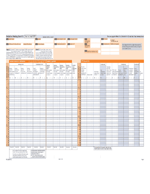 Fillable Online P11 (2010) - P11 Deductions working sheet. Use form ...