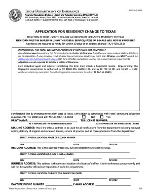 Fillable Online tdi texas TDI Form FIN594 Fax Email Print - PDFfiller