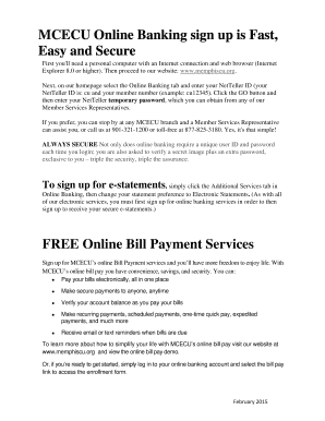 MCECU Online Banking Services information page for members 2015.docx - memphiscu