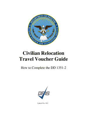 How To Complete DD Form 1351-2 for Civilian PCS - dfas