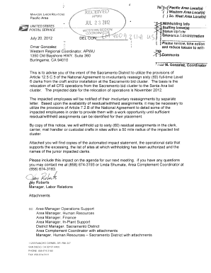 entry level pse mail processing clerk cover letter - Fill Out Online ...