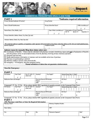 Fillable Online info kaiserpermanente Pharmacy claim form - Kaiser ...