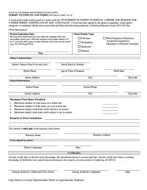 2014-2017 Form CA CDE B1-4 Fill Online, Printable, Fillable, Blank ...