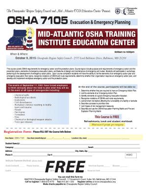 Editable osha safety training matrix - Fill Out, Print & Download