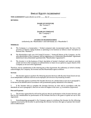 21 Printable Shareholder Agreement Checklist Forms And Templates