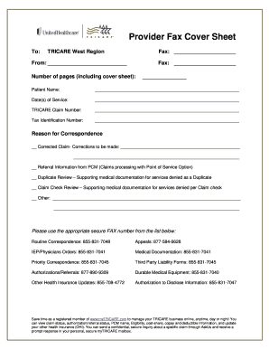 medical fax cover sheet pdf Forms and Templates - Fillable ...