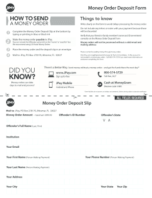 Fillable Online Form - JPay Fax Email Print - PDFfiller