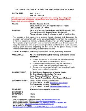 Behavior Contract Template Mental Health Edit Fill Print