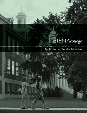 Thank you for your interest in continuing your education at Siena College, where - siena