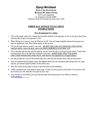 3 day notice to pay rent florida pdf edit fill print download 3 day notice to pay rent florida pdf thecheapjerseys Choice Image
