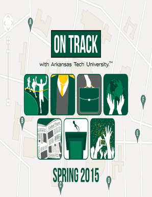 On Track Program (Spring 2015) - Arkansas Tech University Logo