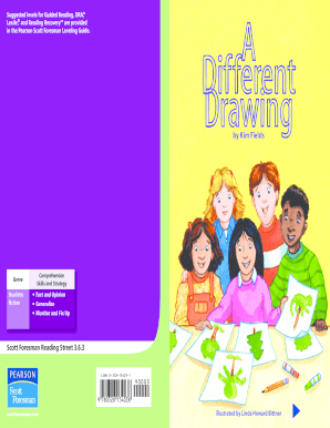 fillable online a different drawing suggested levels for guided rh pdffiller com pearson scott foresman leveling guide grade 6 pearson scott foresman leveling guide grade 6
