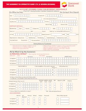 saraswat corporate internet banking application form