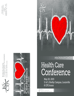 KY CPA Society Healthcare Conference Agenda - Kentucky Chapter ... - kycpa