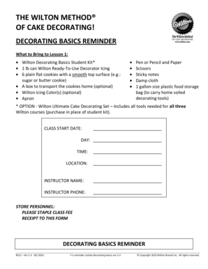 Decorating basics reminder - b5zNet - m b5z