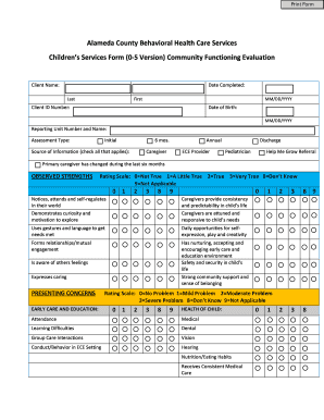 behavioral contract template