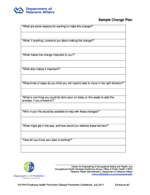 Printable sample strategic plan template edit fill out for Health promotion plan template