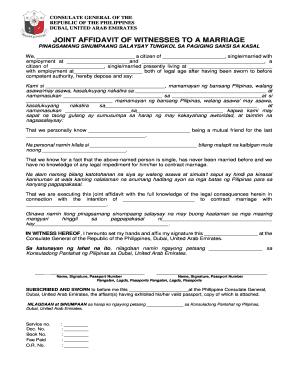 Sample joint affidavit of witnesses fill online printable sample joint affidavit of witnesses altavistaventures Gallery